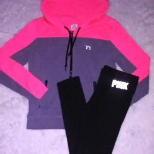 PINK VS Medium Outfit shirt pants bundle matching